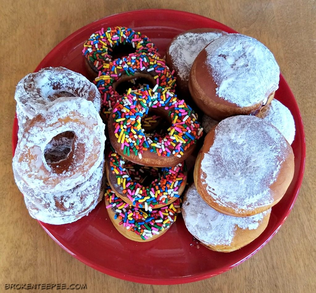 National Donut Day, Amish Donut Recipe, Papyrus, AD