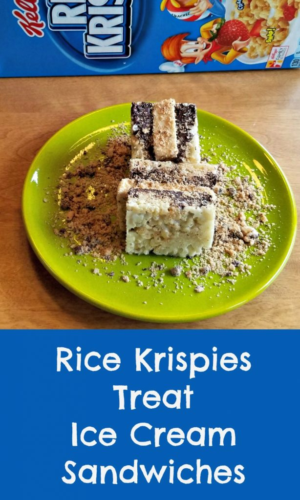 Rice Krispies, Keebler, Rice Krispies Treat Ice Cream Sandwich, save at Target. #TreatYourselftoSummer, #CollectiveBias, #AD