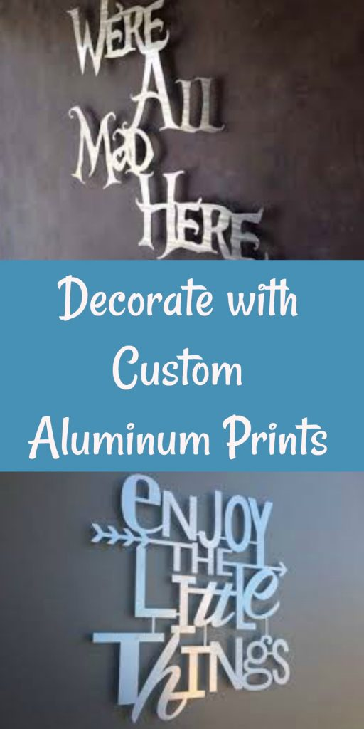 custom aluminum print, FoamCorePrint, AD