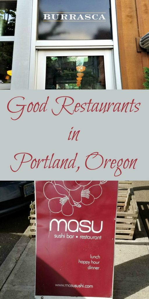 dining out in Portland Oregon, Burrasca, Masu, #TravelPortland, Portland Oregon