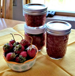 no sugar strawberry pineapple jam, Artisanal Preserves, no sugar jam, AD