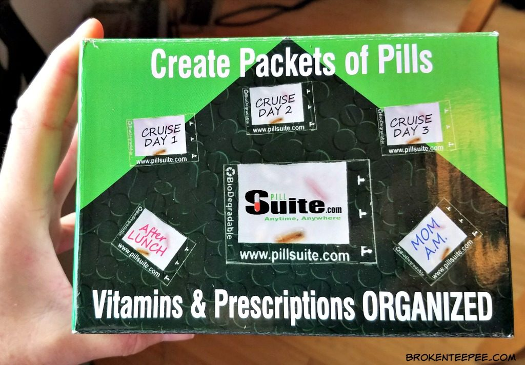 PillSuite, pill organizer, AD