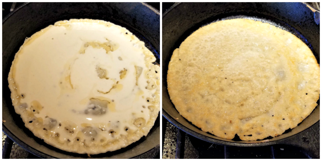 How to make testaroli, Italian crepes, Italian pancake, Testaroli with pesto recipe, Testaroli with pesto