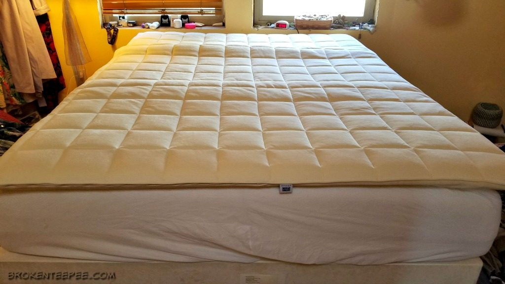 airweave plush mattress topper, tips for a good night's sleep, AD