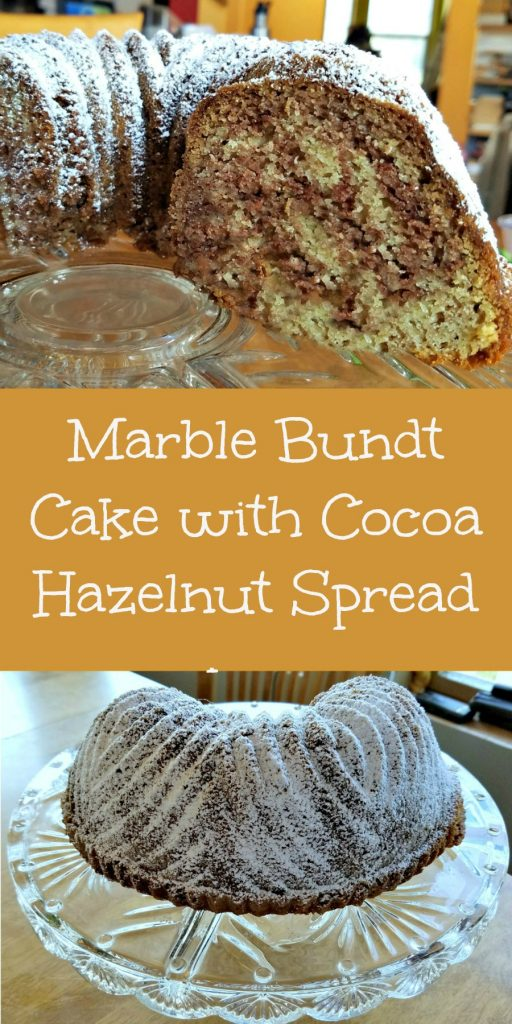 Marble Cake In Bundt Pan