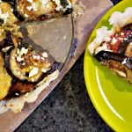 Eggplant Recipes: Eggplant, Tomato and Feta Tart