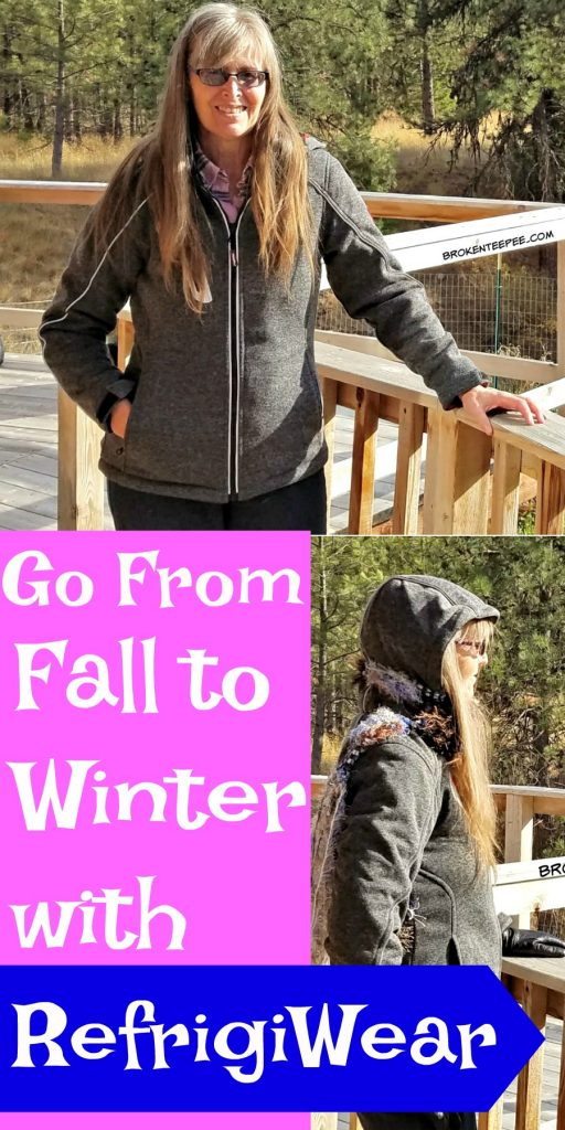 Fall to Winter Outerwear for Women, RefrigiWear, Extreme Sweater Jacket, AD