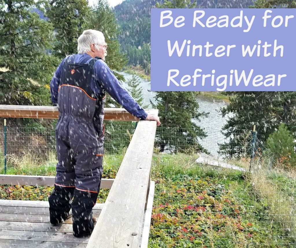 winter gear, RefrigiWear, winter bib overalls, AD