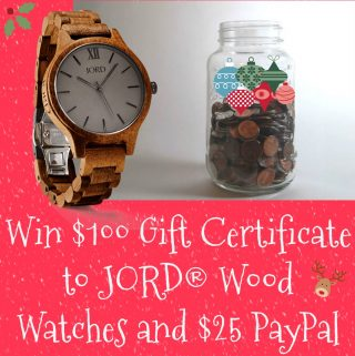 JORD Wood Watch, wood watches, discount code, AD