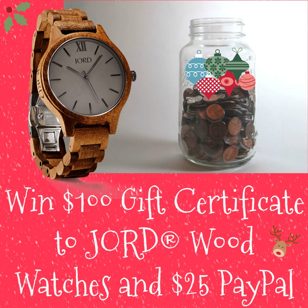 JORD Wood Watches, wood watches, discount code, giveaway, AD