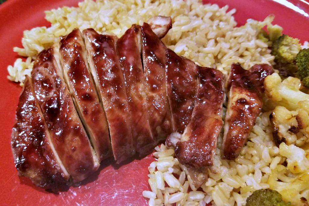 Pomegranate Sticky Chicken  – Easy Weeknight Dinner