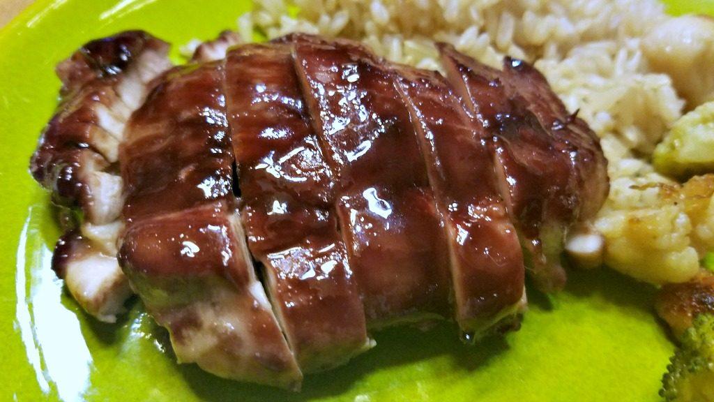 Sticky Pomegranate Chicken, chicken recipe, easy weeknight recipe