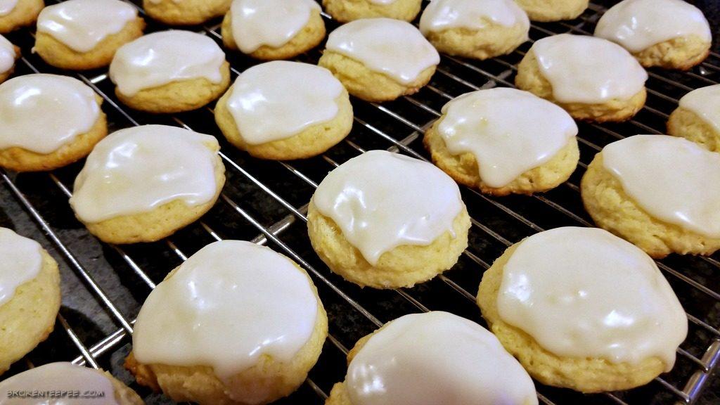 glazed lemon tea cookies recipe, lemon tea cookies. glazed lemon cookies, lemon cookies