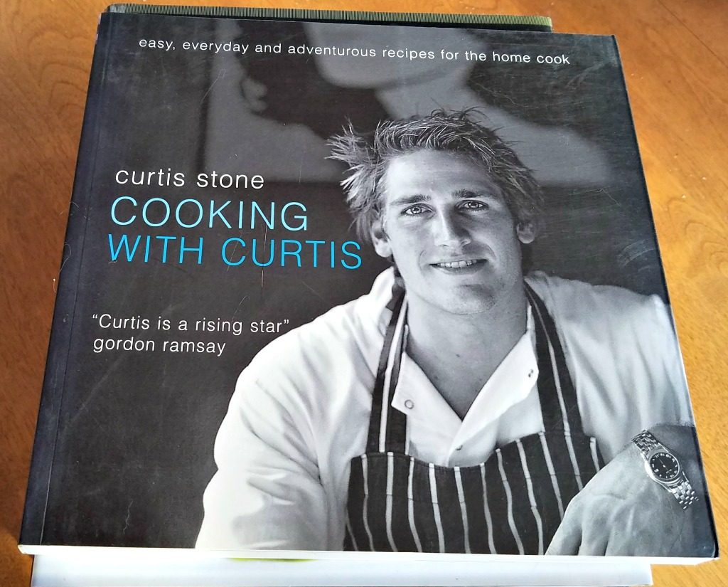 Celebrity Chef Cookbooks, making a special dinner at home, Curtis Stone