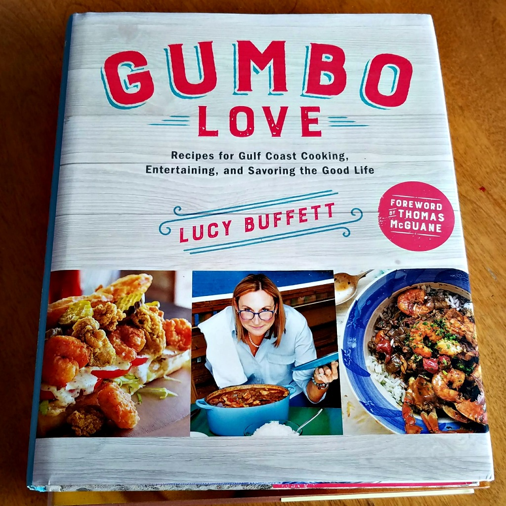 Celebrity Chef Cookbooks, making a special dinner at home, Lucy Buffet, Gumbo Love