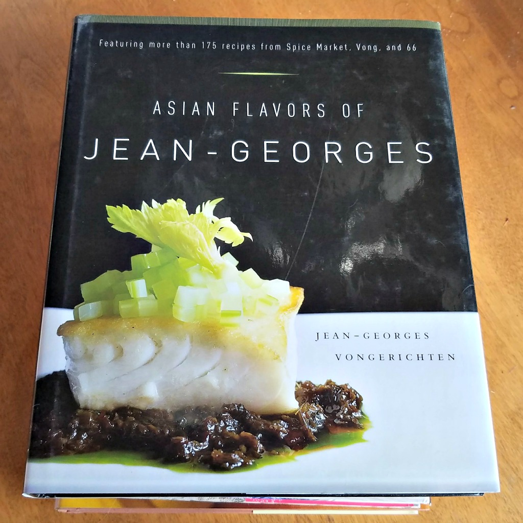 Celebrity Chef Cookbooks, making a special dinner at home, Jean Georges