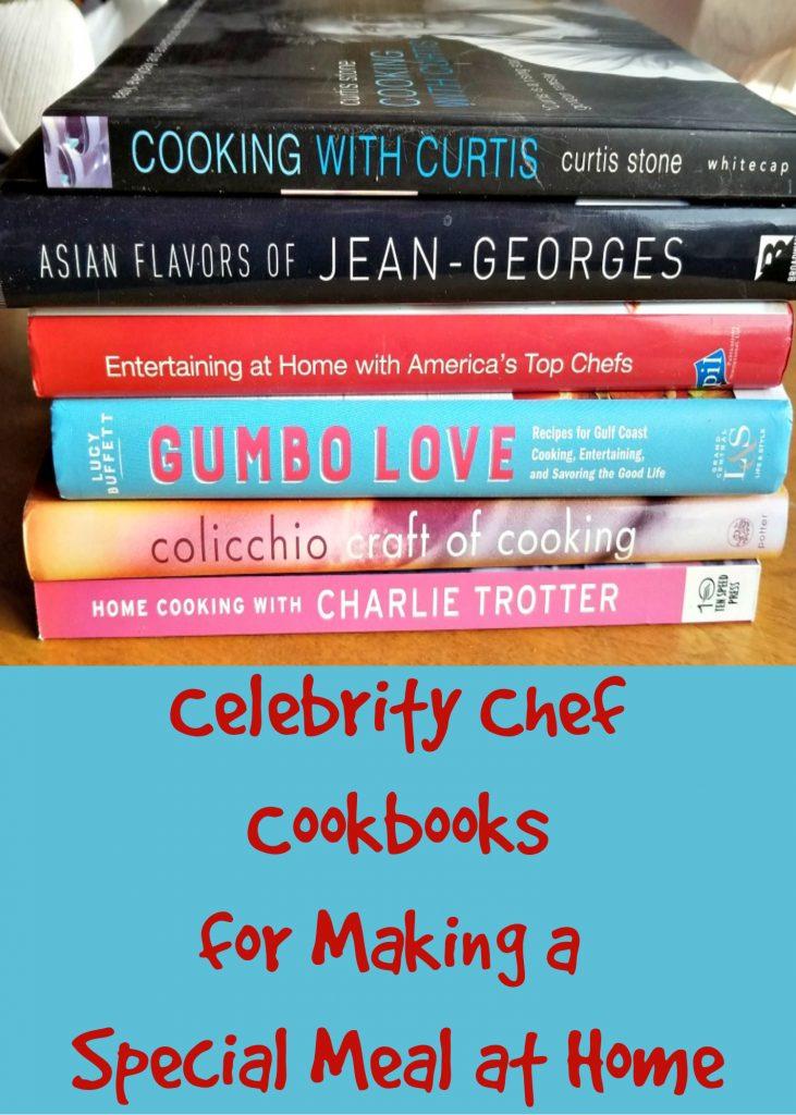celebrity chef cookbooks