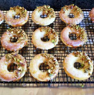 baked lemon donuts, baked doughnuts, lemon donuts, lemon doughnuts