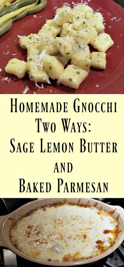 making homemade gnocchi, gnocchi recipes, homemade gnocchi recipes, gnocchi parmesan