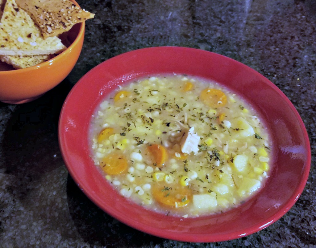 Electric Pressure Cooker Chicken Soup – Freezer to Table in 30 Minutes