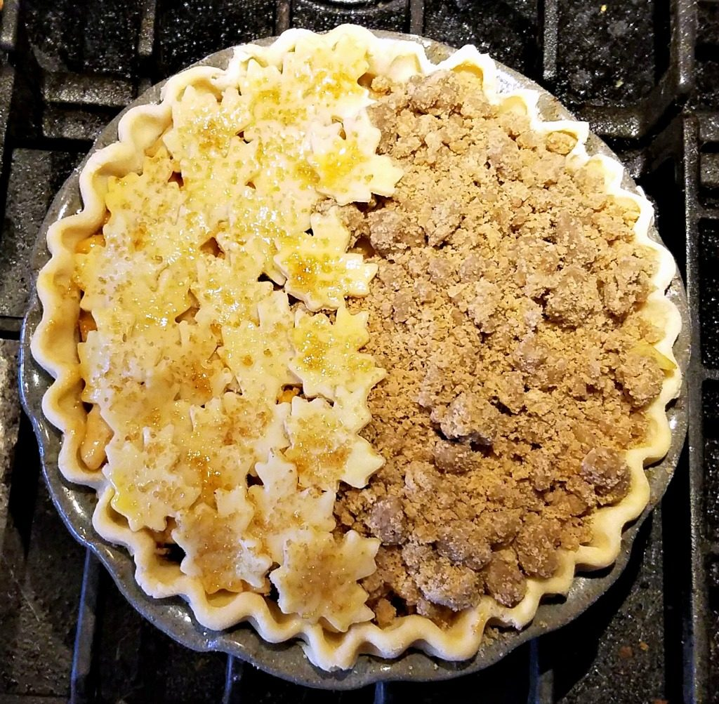 fruit pie, apple pear pie recipe, winter fruit pie