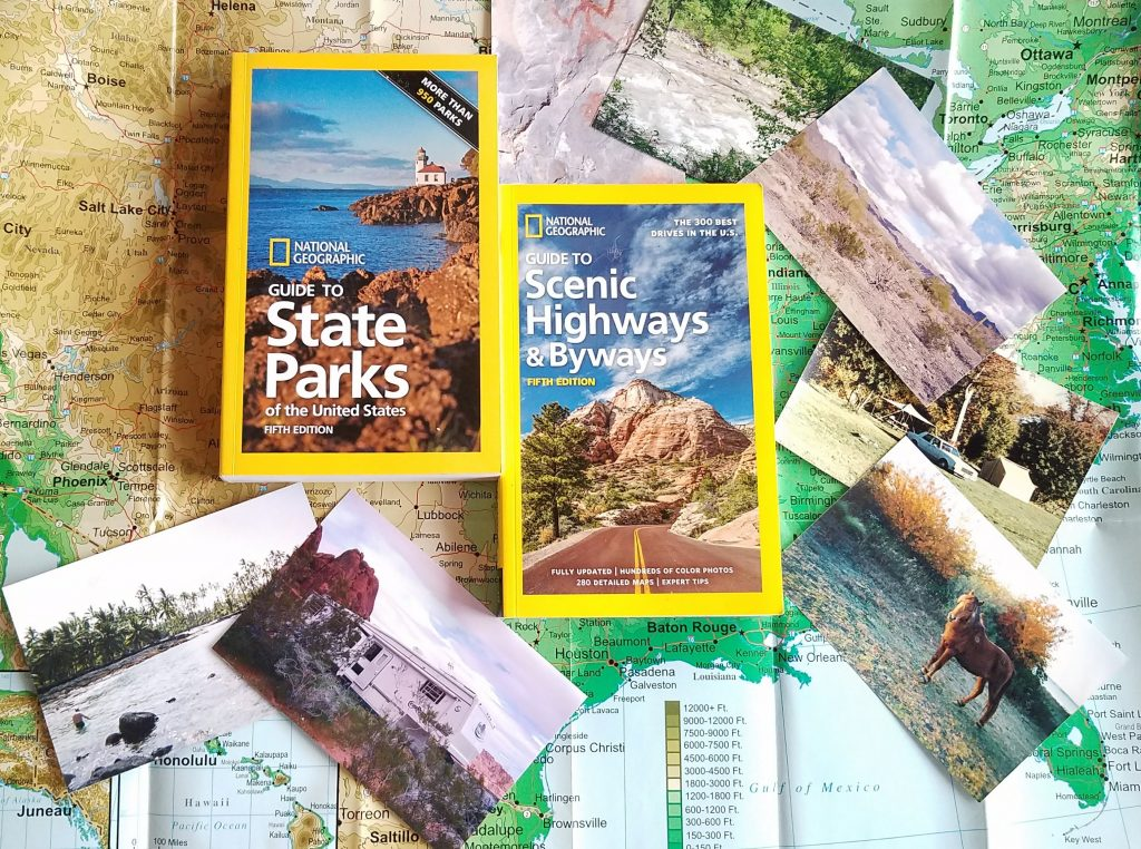 Travel Guides, National Geographic Travel Guides, Guide to State Parks, Guide to Scenic Highways and Byways, AD