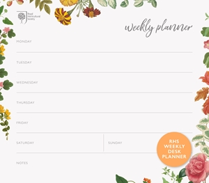 stay organized, organization, RHS, Quarto Knows, weekly desk planner, AD