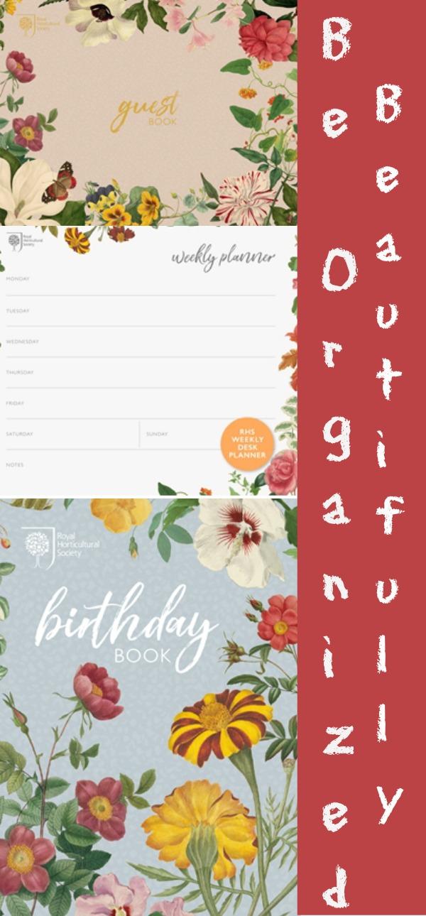 stay organized, organization, RHS, Quarto Knows, AD