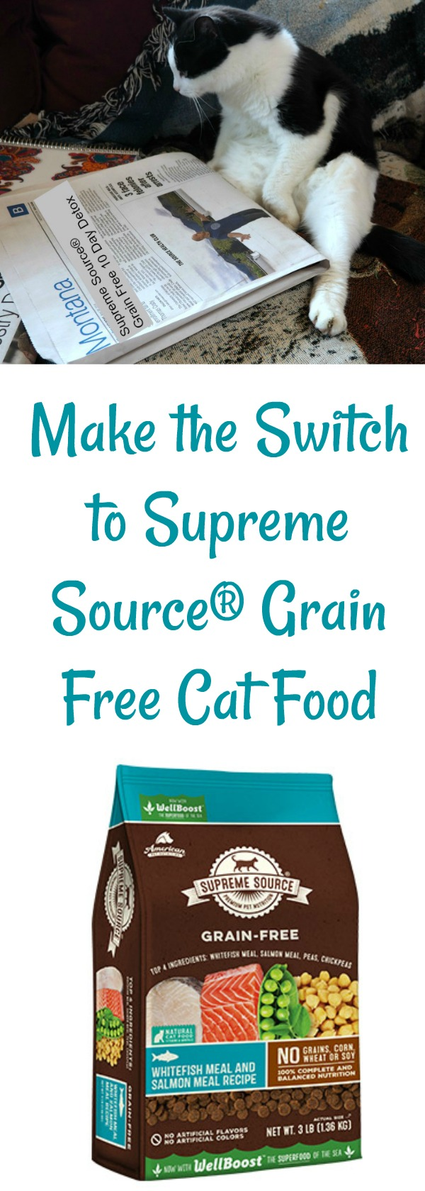 Supreme Source, Super Food Switch, grain free cat food, #SupremeFoodSwitch, #IC #AD