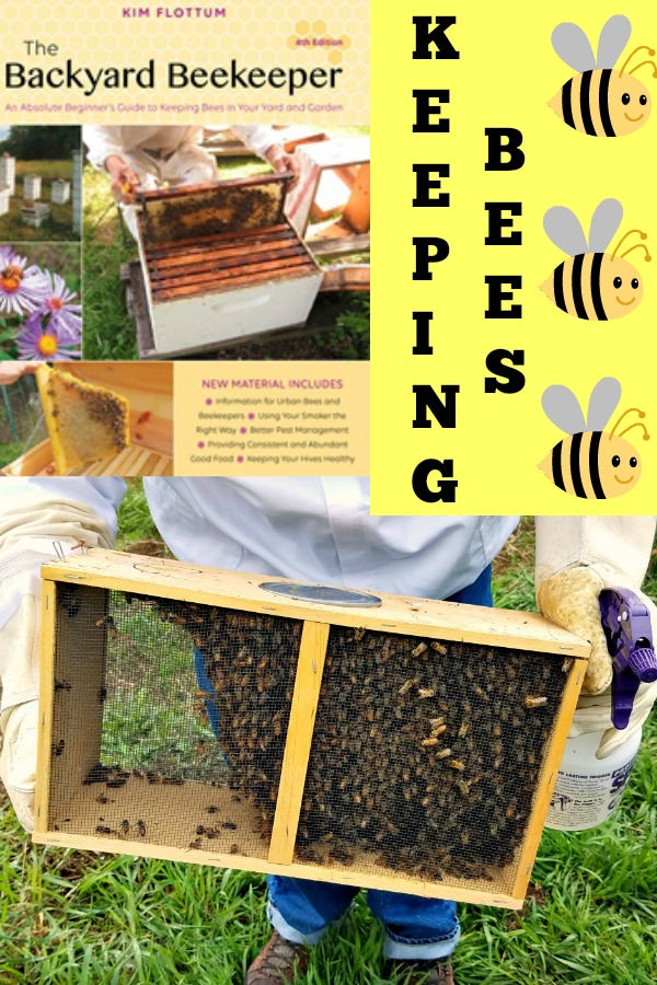 The Backyard Beekeeper, Kim Flottum, keeping bees, AD