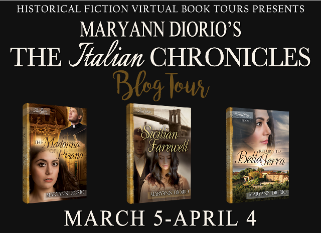 Italian Chronicle Series, Historical Fiction Virtual Book Tours,