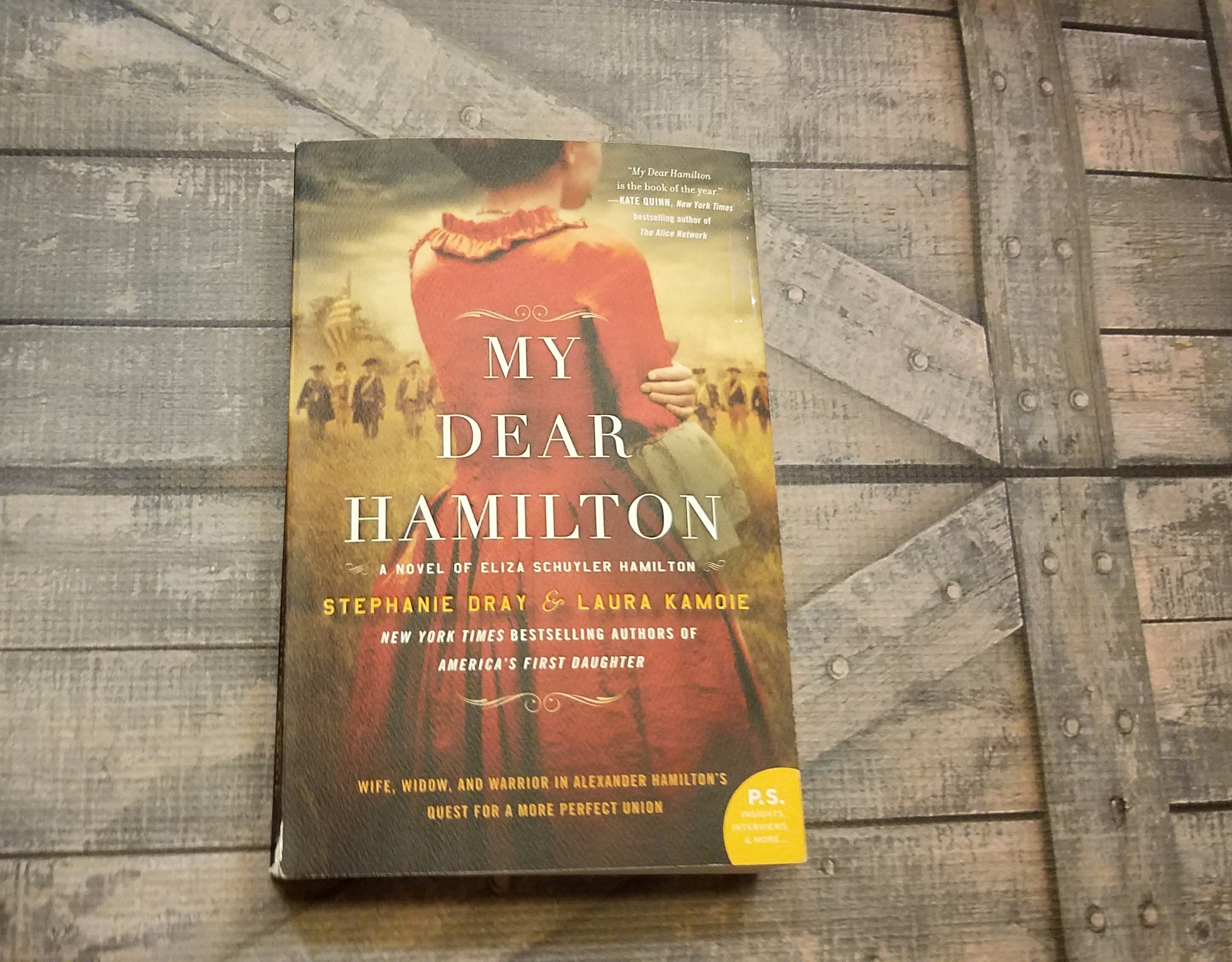 My Dear Hamilton by Stephanie Dray and Laura Kamoie – Blog Tour and Book Review