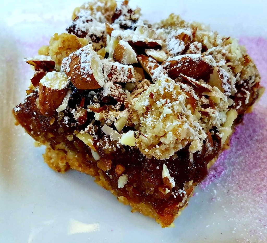 Baking with Almond Flour – Apricot Cherry Bars