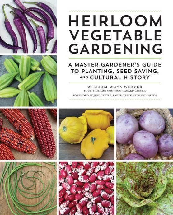 planning for garden season, books for your gardening library, Heirloom Vegetable Gardening, AD