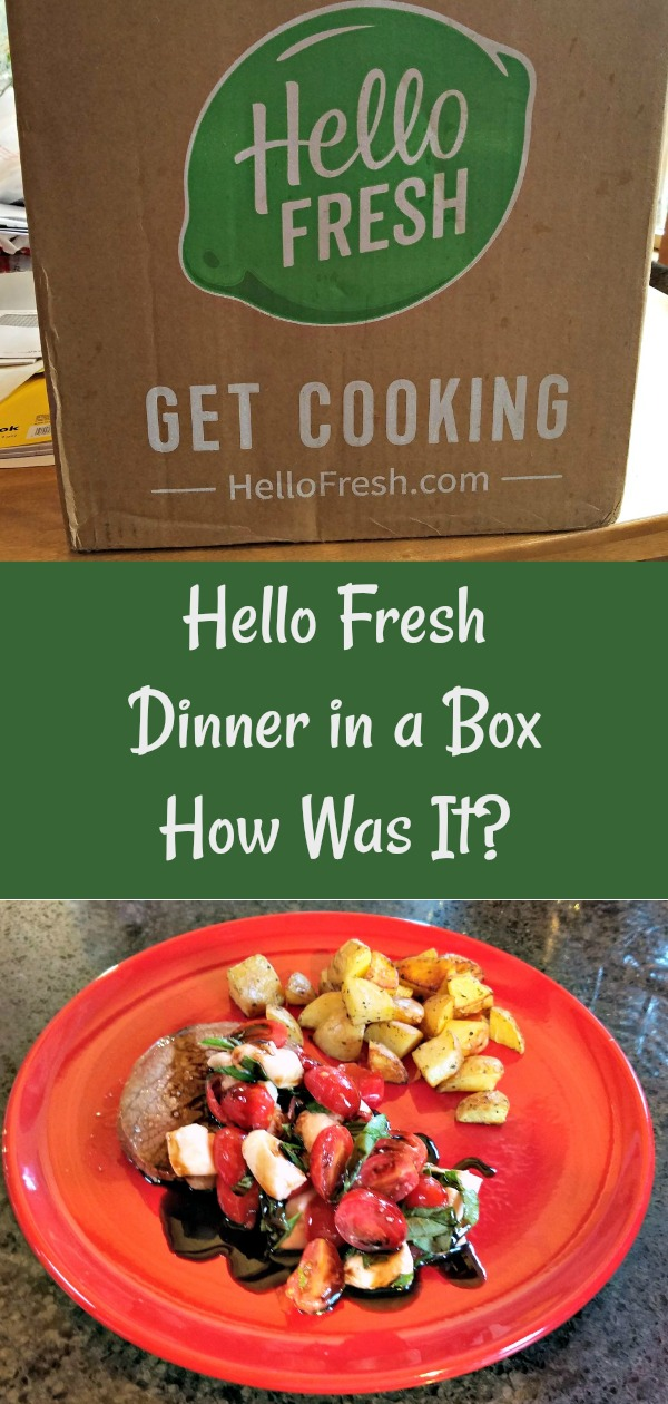 Hello Fresh meal subscription service
