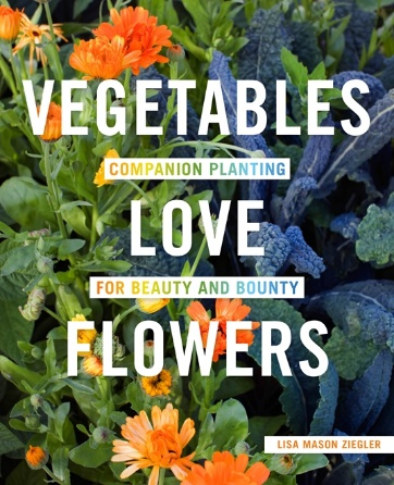 planning for garden season, books for your gardening library, Vegetables Love Flowers,  AD