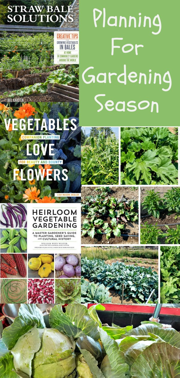planning for garden season, books for your gardening library, AD