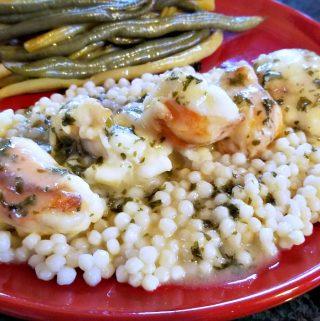 lobster picatta style, simple lobster recipe, weeknight lobster recipe