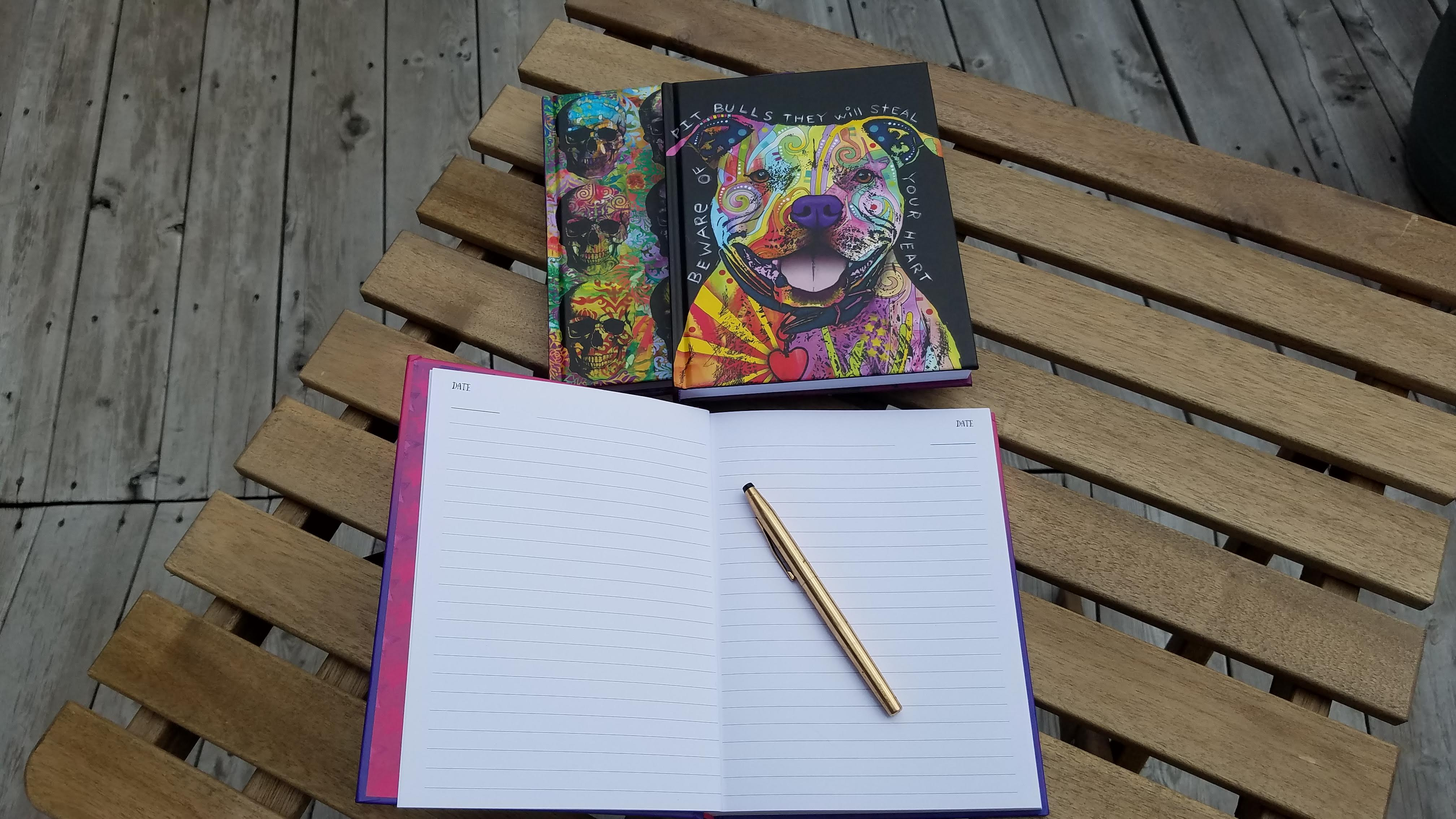 Journaling Inspirations, Dean Russo designs, Dean Russo Journals, Fox Chapel Publishing, AD