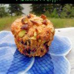 cherry pistachio chip muffins