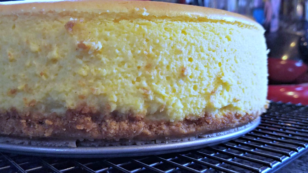 The Big Sky Bounty Cookbook by Chef Barrie Boulds and Jean Petersen, cookbook review, New York Cheesecake recipe, AD