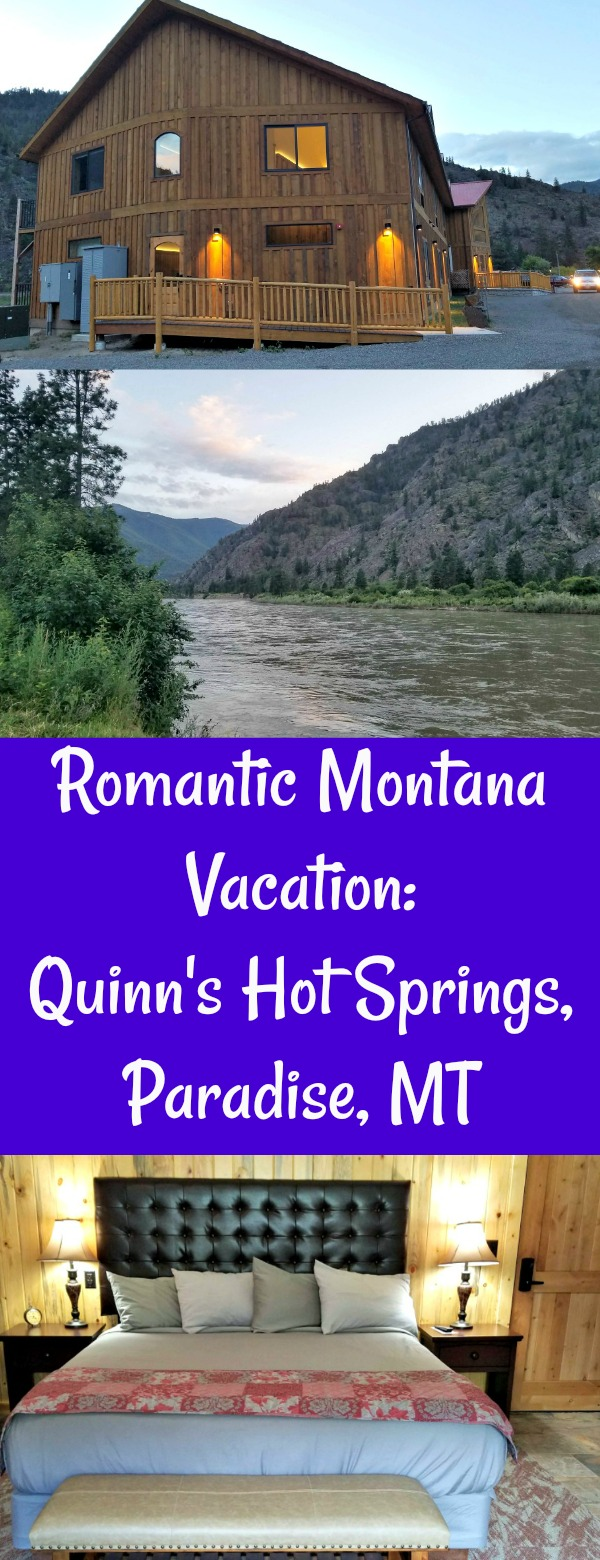 Romantic Montana Vacation, Quinn's Hot Springs Resort, dinner and a show