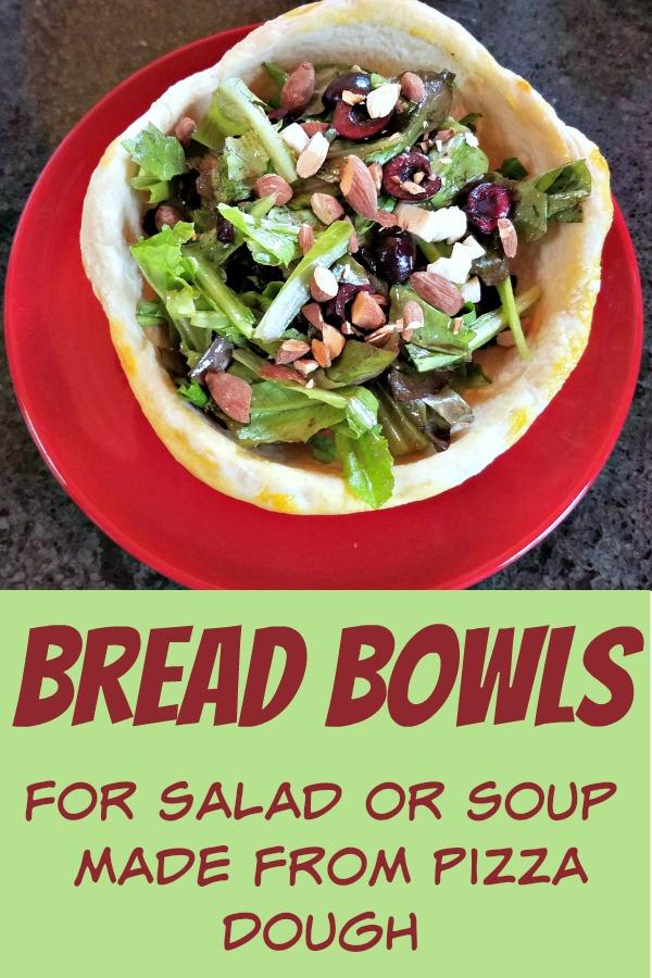pizza dough bread bowls, bread bowls