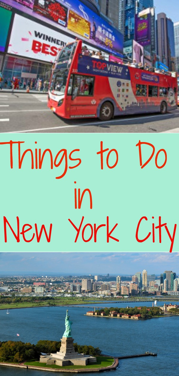 Things to do in new york city for first time visitors or for Fun thing to do in nyc
