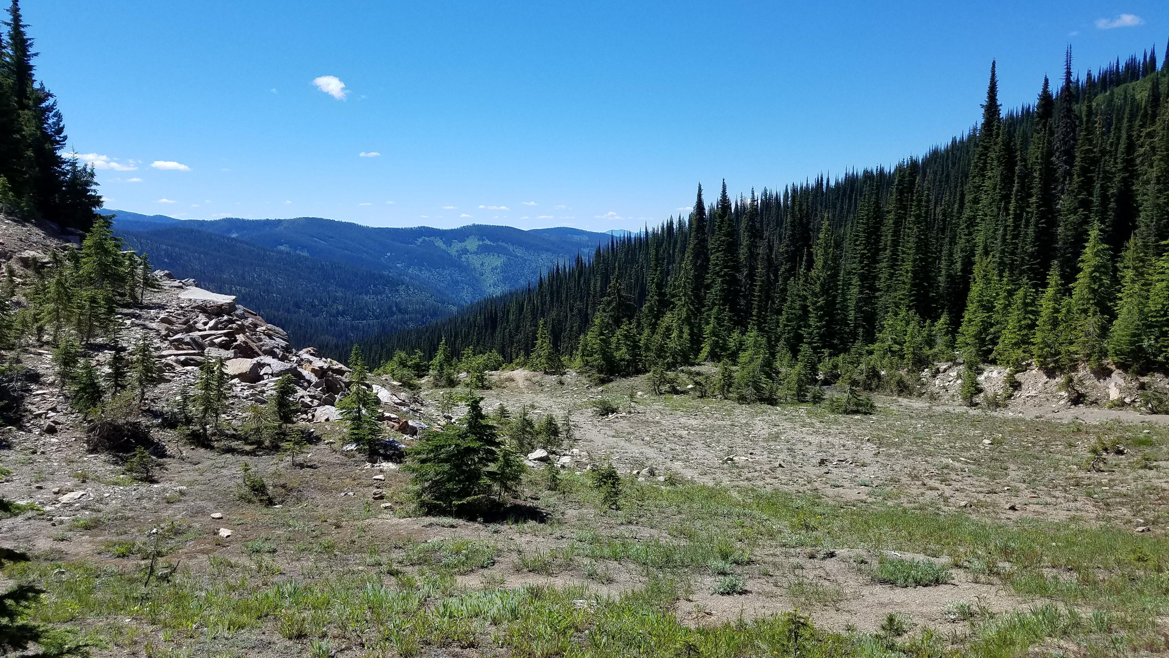 Beautiful Drives in Montana, Trout Creek Road to Hoodoo Pass