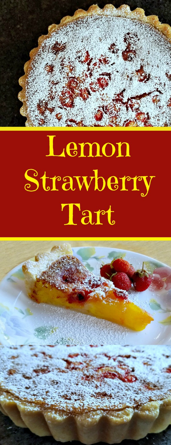 Lemon Strawberry Tart Recipe