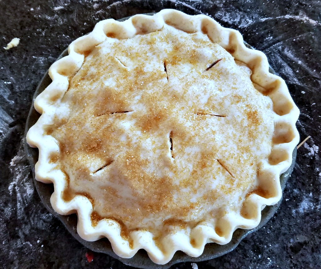 Strawberry Rhubarb Pie, AD