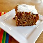 Carrot Cake – a Sweet Way to Use the Carrot Harvest