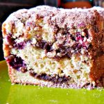 best coffee cake recipe, moist coffee cake, sour cream coffee cake, blackberry recipe, blackberry streusel coffee cake, coffee cake