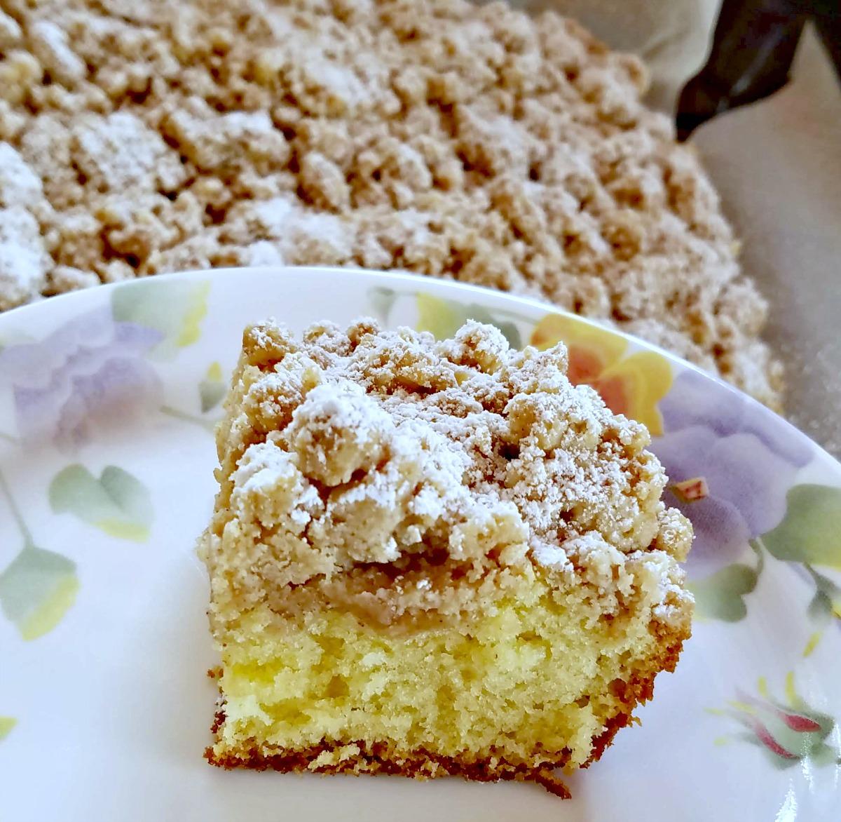 New York Crumb Cake, crumb cake, crumb cake recipe